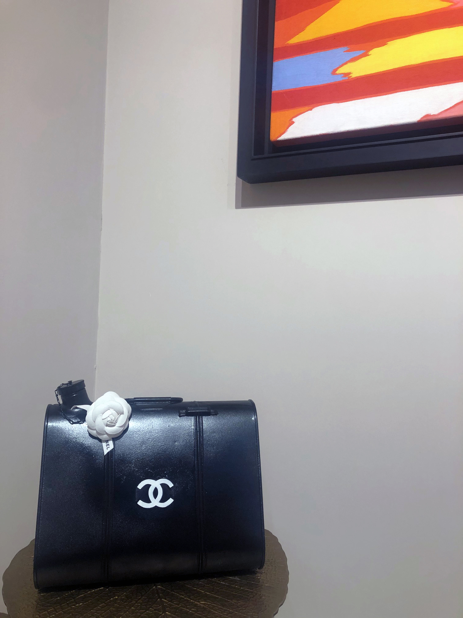 Tank Bag Chanel Black, 2019, tecnica mista, 33 x 20 x 26 cm