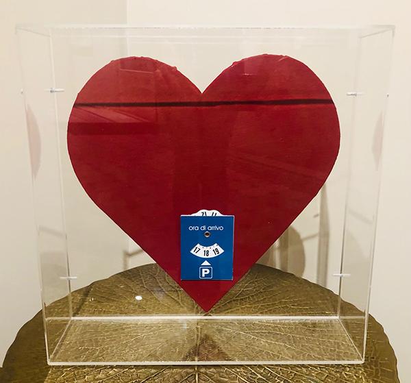Endless Love, 2020, tecnica mista, 35 x 35 cm