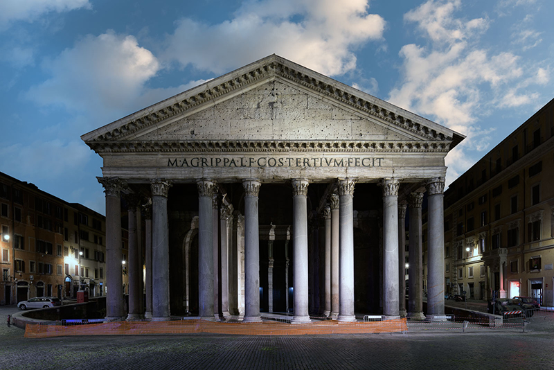 The Empire of Light 03, Rome, 2020, archival pigment print su carta cotone, 75 x 110 / 100 x 150 cm