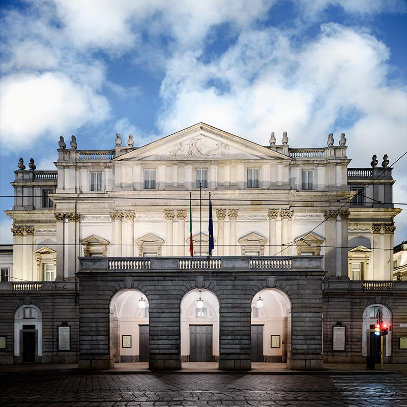 Daydreaming Milano 02, 2021, archival pigment print su d-bond e cornice, misure realizzabili, 110 x 110 / 150 x 150 cm