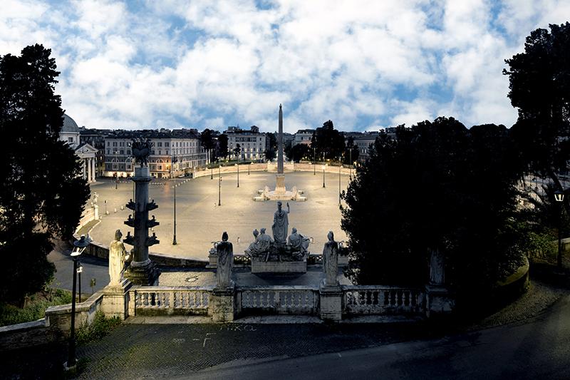 Daydreaming Roma 04, 2020, archival pigment print su d-bond e cornice, misure realizzabili, 75 x 110 / 100 x 150 cm