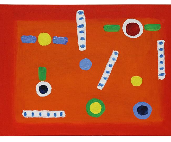 Poesia rossa, 2014, olio su tela, 25 x 35 cm