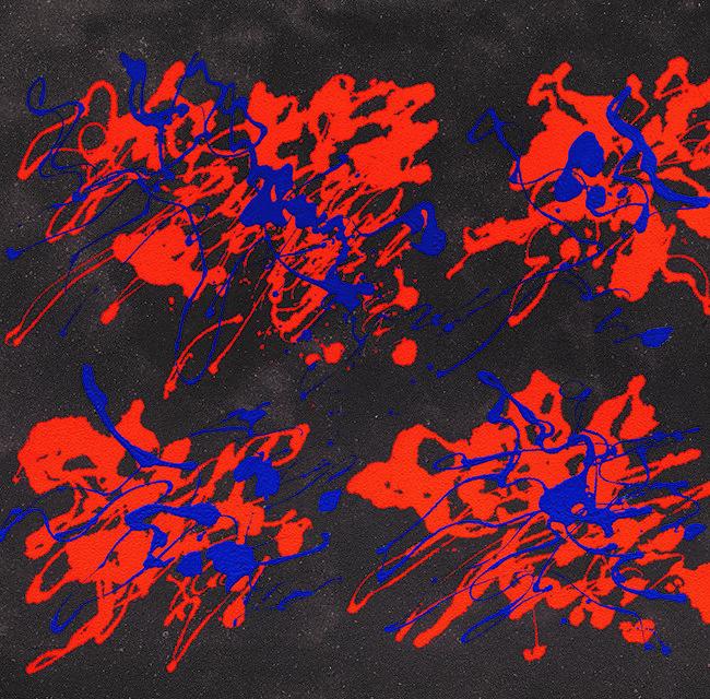 Arcipelago, 1972, tecnica mista su tela, 80 x 100 cm