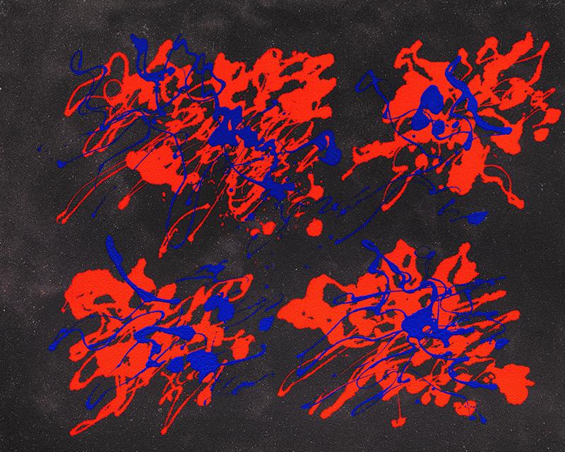 Arcipelago, 1972, tecnica mista, 80 x 100 cm